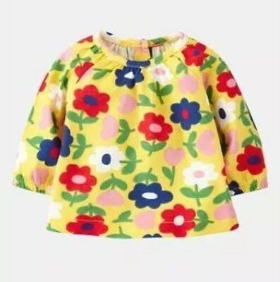 BRAND NEW STOCK JUST IN - Mini Boden Long Sleeve Smock Top 0-3Mnths -  4Yrs