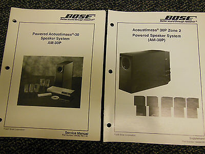 bose service manual powered acoustimass 900 speaker system am900p rh picclick com Acoustimass Subwoofer Acoustimass Connection