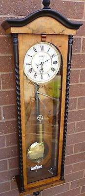 Antique Single -Weighted Vienna Clock. In excellent working order