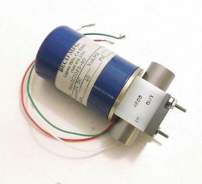New BECO M442C2DFS-HT Solenoid Valve - 24VDC - 40 PSI - Prepaid Shipping