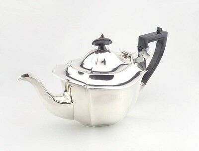 Vintage Angular Silver Plated Teapot - Afternoon Tea or Tea Party - EPNS
