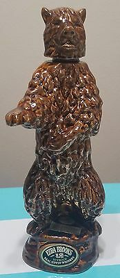 "1968 ""Golden Grizzly Bear"" Ezra Brooks decanter"