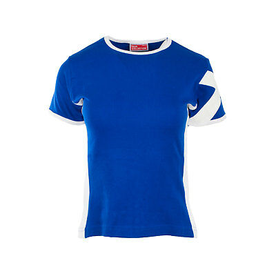 Heritage of Scotland Women's Fashion Saltire T-Shirt