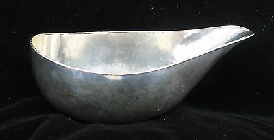 ***VERY RARE c1790 English Antique Pap Sauce Boat Silver Plate