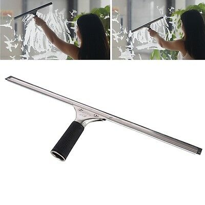 New Window Squeegee Car Glass Wiper Rubber Scraper Kit Shower Tile Cleaning Tool