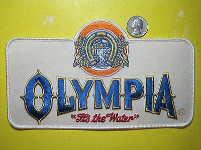Beer Patch Olympia Beer Patch Oly Large Back Size Look And Buy Now!!*