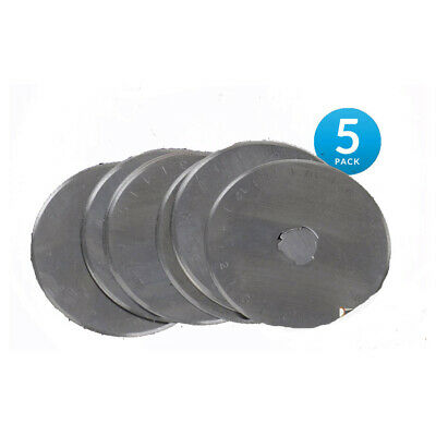 Sew Better Set 5 Rotary Cutting Blades 60mm Fits All Brands Olpha Clover True...