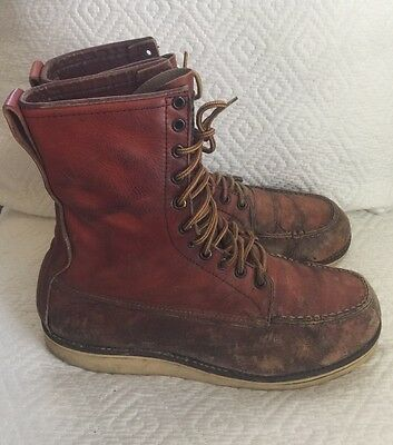 Vintage Red Wing Irish Setter Work Boots Men's Size 13 D