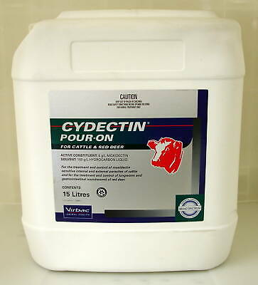 Cydectin Pour-On For Cattle-15L