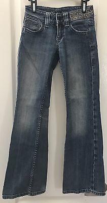 MISS ME Youth Girls Denim Jeans Sz 8
