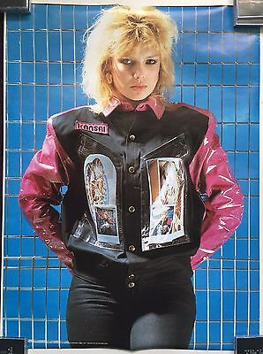 """KIM WILDE Poster 23"""" x 31"""" 1982  Rolled"""
