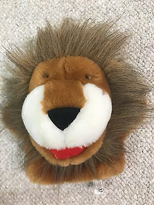 """Pappa Geppeoto 6"""" Plush Lion Hand Puppet"""
