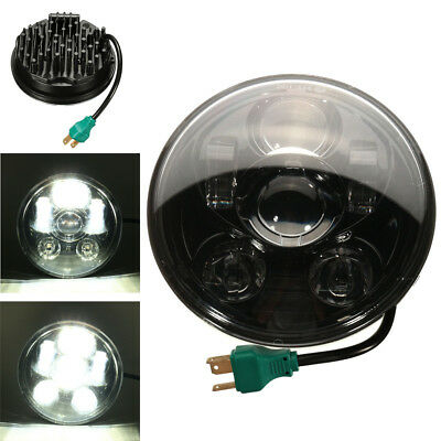 5-3/4'' Motorcycle Projector LED Headlight Daymaker Lamp Hi/Lo For Harley Bobber