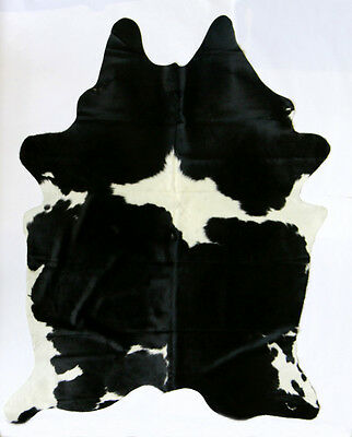 Brazilian Cowhide Rugs.Best in the World.BLACK&  WHITE MORE BLACK.FREE DELIVERY