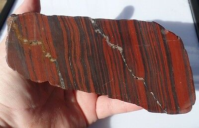 Australian banded iron mineral specimen collection lapidary hematite jasper H127