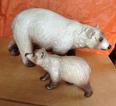 Breyer ~ Breyerfest Sr ~ Kodiak And Denali ~ Mamma Bear And Cub ~ 711180