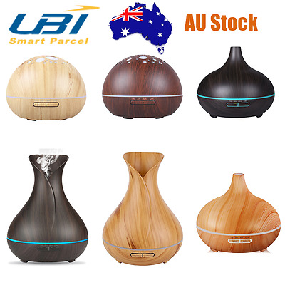 Ultrasonic Aroma Diffuser Essential Oil Humidifier Air Aromatherapy Purifier AU