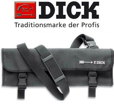 F Dick Textile Knife Roll Bag, 11 Pocket Butcher Chef Knives Storage Pouch