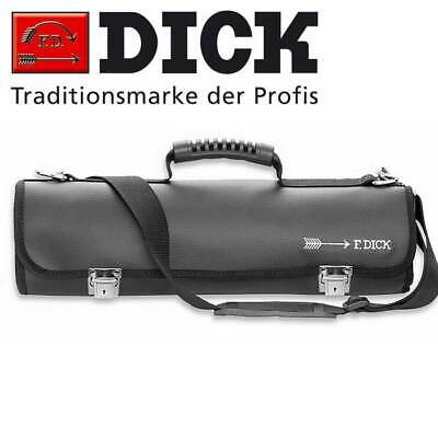 F Dick Leather Knife Roll Bag, 11 Pocket Butcher Chef Knives Storage Pouch