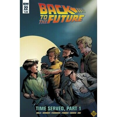 Back To The Future -22 Cvr A Ferreira -  - Back To The Future