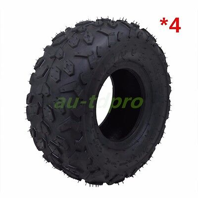 "145/70- 6"" INCH TYRE TIRE KIDS ATV QUAD MINI MONKEY BIKES GO KART DUNE BUGGY x 4"