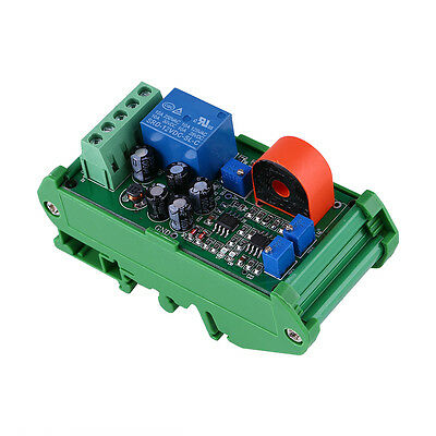 24V 0-5A Current Detection Sensor Module Delay Time Relay Control Switch Linear