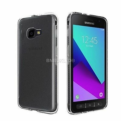 Transparent Clear Silicone Slim Gel Case For Samsung Galaxy Xcover 4