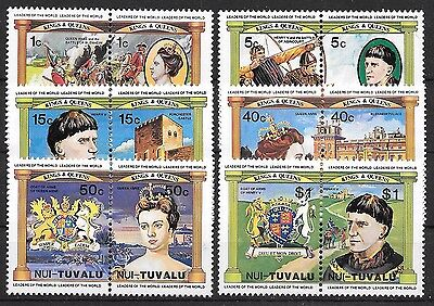 Tuvalu-Nui 1984 ** Mi.9/20 english monarchs