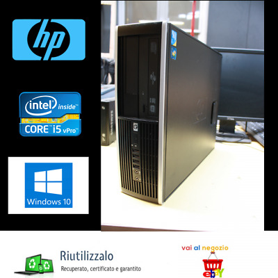 PC HP 8100 ELITE SFF-INTEL CORE I5 3.20ghz-RAM 4GB- HDD 500GB-WIN.10