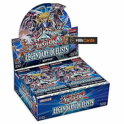 Yu-Gi-Oh TCG Legendary Duelists Sealed Booster Box of 36 Packs - Duelist Pack