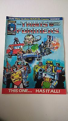 The Transformers Issue 77 UK Comic