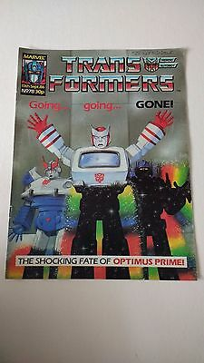 The Transformers Issue 78 UK Comic