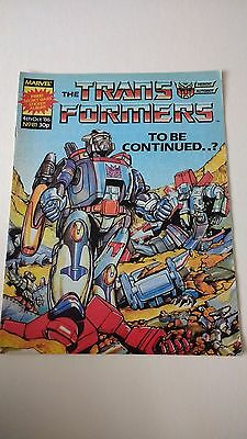 The Transformers Issue 81 UK Comic
