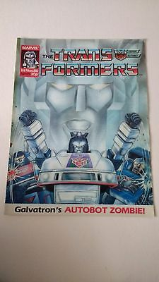 The Transformers Issue 85 UK Comic