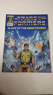 The Transformers Issue 89 UK Comic