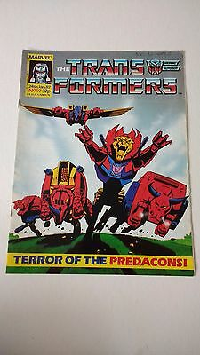 The Transformers Issue 97 UK Comic