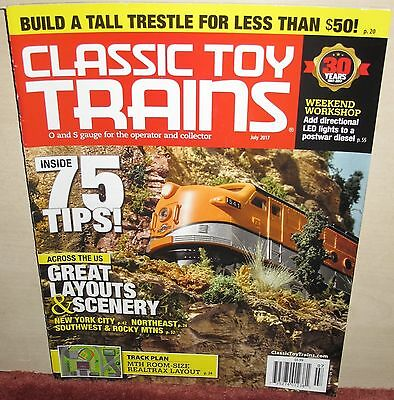 Classic  Toy Trains Magazine 2017-2019