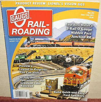 O Gauge Railroading Magazine 2003 à Janvier 2019