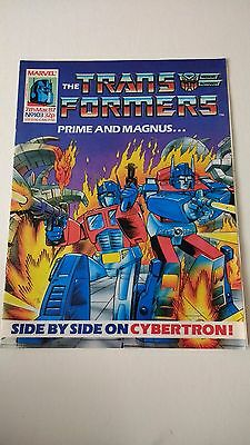 The Transformers Issue 103 UK Comic