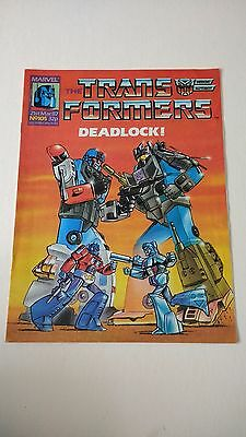 The Transformers Issue 105 UK Comic
