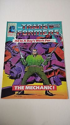 The Transformers Issue 109 UK Comic