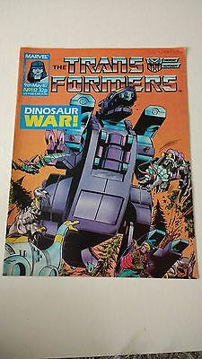 The Transformers Issue 112 UK Comic
