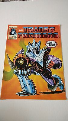 The Transformers Issue 118 UK Comic
