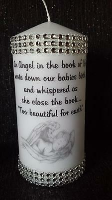 baby memorial  candle
