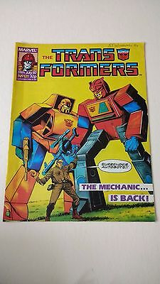 The Transformers Issue 121 UK Comic