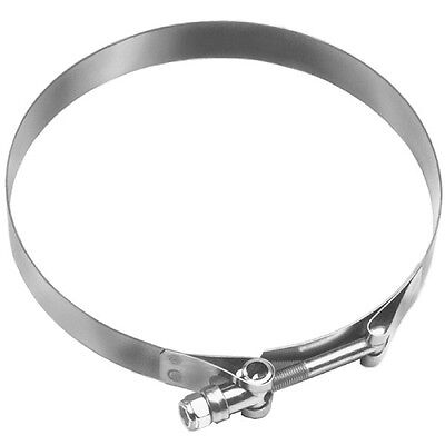 """DIXON 5.55"""" to 6.12"""" Long Bolt Stainless Steel T-Bolt Hose Clamp - STBC600L"""