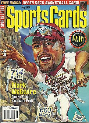 Sports Cards Magazine May 2000 Mark McGwire, Excellent Cond.