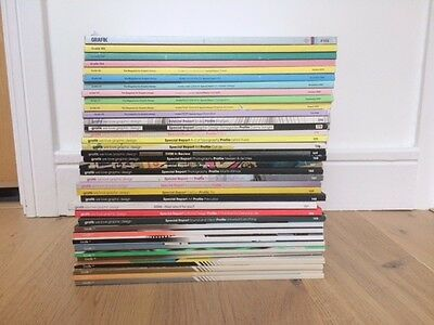 37 Grafik Magazines - Great Condition - Collection only (West Hampstead)