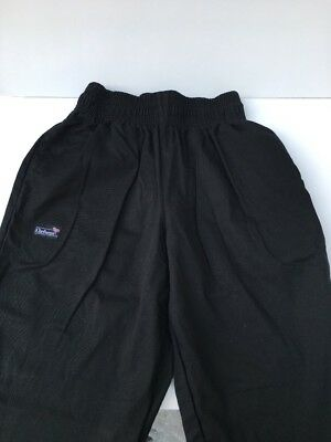Chefwear Black Pants, Size M, Brand New Without Tags
