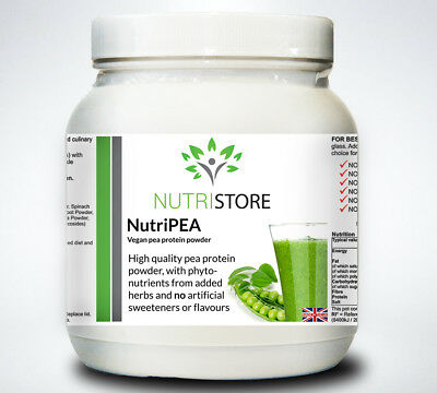 High Protein Vegetarian Pea Powder Shake Packed with Vitamins and Amino Acids